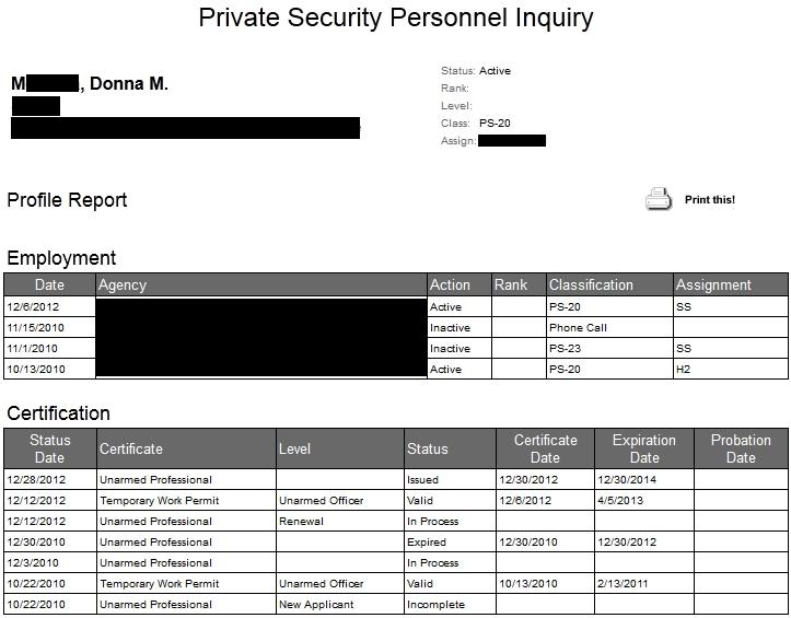 DonnaM. Security Inquiry1