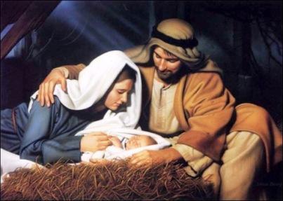 Baby Jesus Born
