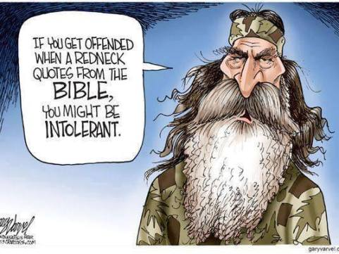 Redneck and the Bible