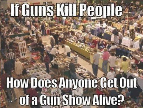 IfGunsKillPeople - Gun Shows