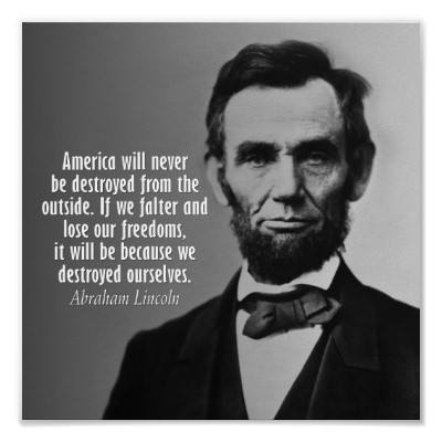 Abraham Lincoln Quote 2