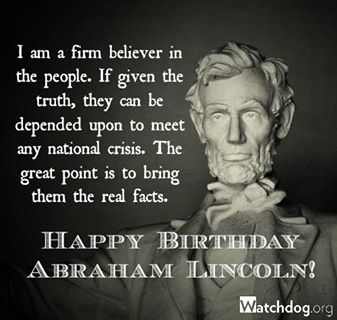 Happy Birthday Abraham Lincoln Political Fireball