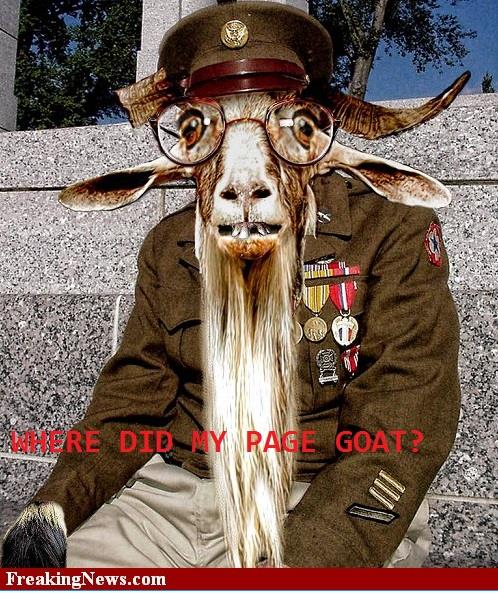 Goats- Page GO