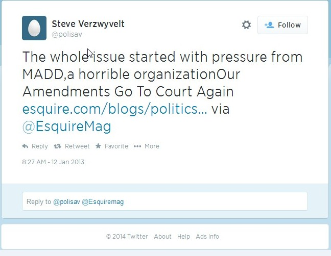 "Notice the date? January 2013, long after the supposed ""hacking"" that Verzwyvelt mentioned."