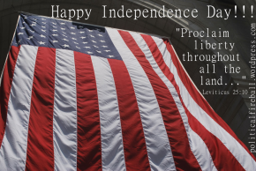 Happy Independence Day– and who said liberals don't re-write history?