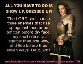 Sunday Inspiration: The Battle is the Lord's!