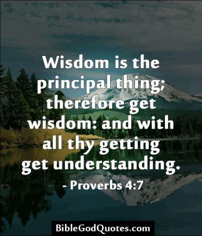 Bible- Get Wisdom