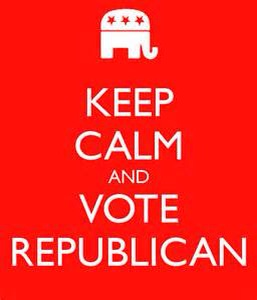It is election day– and we can win with your help!! Vote Republican!!
