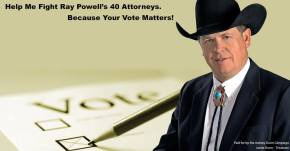 Don't let Dem Attorneys Cheat us out of NM Land CommissionerSeat!
