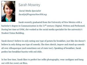 Sarah Mowrey