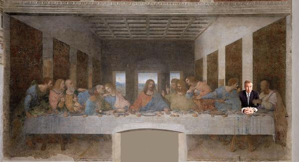 BW-Lord's Supper