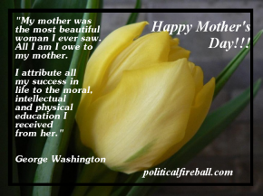On Mother's Day…
